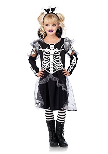 Avenue Leg Kostüm Skelett - LEG AVENUE C49093 - Kostüm für Kinder