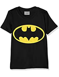 DC Comics Boy's Batman Logo T-Shirt