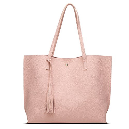 Fanhappygo Fashion Retro Leder Damen Elegant Shopper-Tasche ...