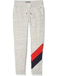 Tommy Hilfiger Racing Stripe Sweatpant, Pantalones para Niños