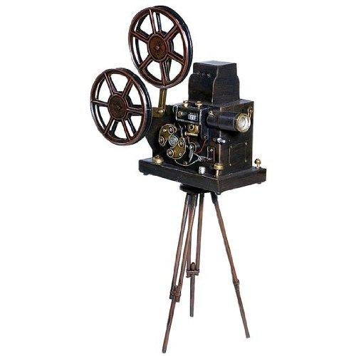 Deko-Woerner Filmkamera-Attrappe 48x26x11cm