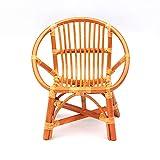Handmade rattan sedia di svago mobilia dell'hotel esterno cortile balcone sedia tessere bocca piatta tromba