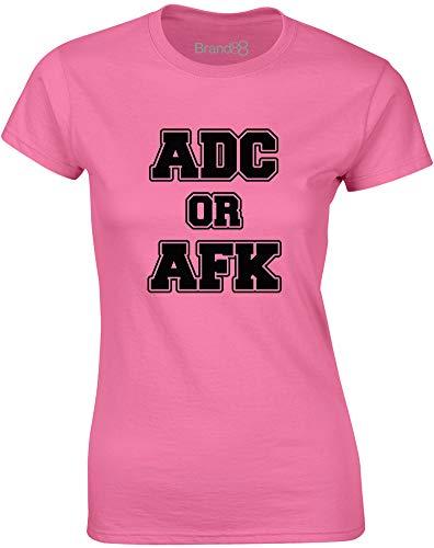 ADC Or AFK, Frauen T-Shirt - Azalee/Schwarz S = 78-81cm -