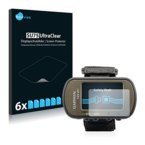 Savvies Garmin Foretrex 401 Film Protection [6 Pièces] Protection écran Film Protecteur