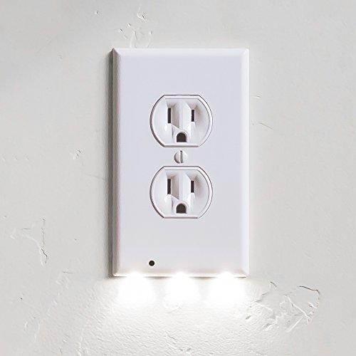 snappower Guidelight–Steckdose Abdeckungen an mit LED Nacht Licht (Wall Plate-nacht-licht)