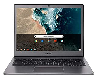 "Acer Chromebook CB713-1W-30S8 Ordinateur portable 13"" QHD Gris (Intel Core i3, 8 GB de RAM, Mémoire 32GB, Intel® HD Graphics , Chrome OS) Clavier AZERTY (B07K8TRLBS) 