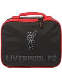 Liverpool FC Bolsa Portalimentos Niños Negro/Rojo LFC Oficial