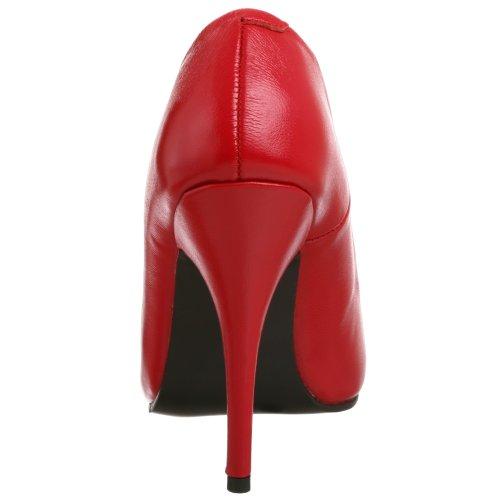 Pleaser - Seduce-420, Scarpe col tacco Donna Rojo(Leder Rot)