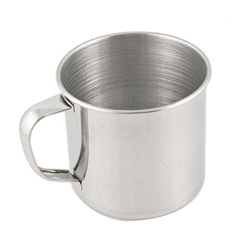 Kuizhiren1 taza de acero inoxidable, para camping, senderismo, acero inoxidable, taza de café, té, oficina, escuela, regalo