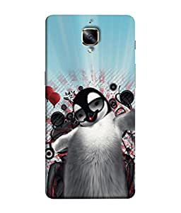 PrintVisa Music Lover 3D Hard Polycarbonate Designer Back Case Cover for OnePlus 3T :: OnePlus 3 T :: One Plus 3T