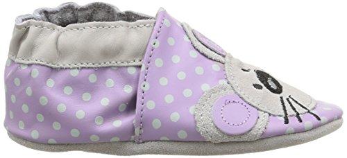 Robeez Souricette, Chaussures Bébé marche bébé fille Violet (143)