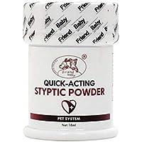 Ankamal Elec 1pc Styptic Powder for Pets Mascotas con Polvo estíptico para Detener el Sangrado Blood Stop Powder