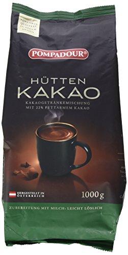 Pompadour Hüttenkakao 1 kg, 2er Pack (2 x 1 kg)