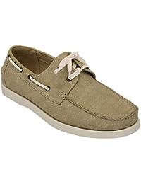 Uomo Jeans pelle scarpe stile barca Driving pizzo Up Deck Galax CASUAL  ELEGANTE ESTATE NUOVO 2d9146040fa