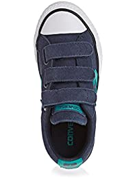 e6b68250fcda Converse Unisex Kids  Lifestyle Star Player Ev 3v Ox Canvas Fitness Shoes