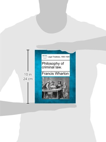 Philosophy of criminal law.
