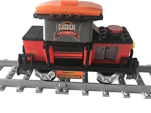 Lego City kompatibel Eisenbahn Waggon-C Neu …
