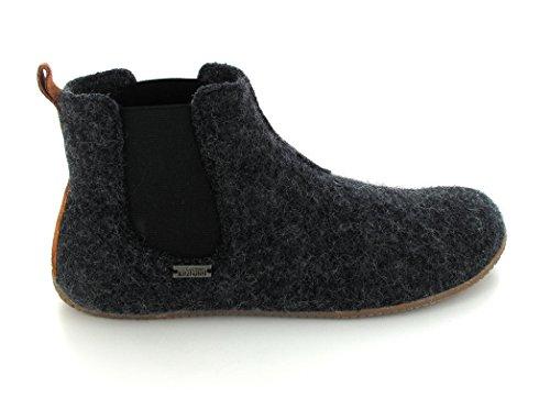 Living Kitzbühel 3064 Unisex-Erwachsene Hausschuhe Chelsea Boots Anthra
