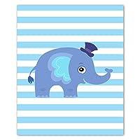 Poster Elephant Nursery Decor Love Infant Wall Art Nursery Prints Canvas Boy Nursery Decor Pictures 50x70cm