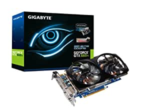 Gigabyte GV-N66TOC-2GD NVIDIA GTX 660 Ti Grafikkarte (PCI-e, 2GB GDDR5 Speicher, 2x DVI, HDMI, DisplayPort, 1 GPU)