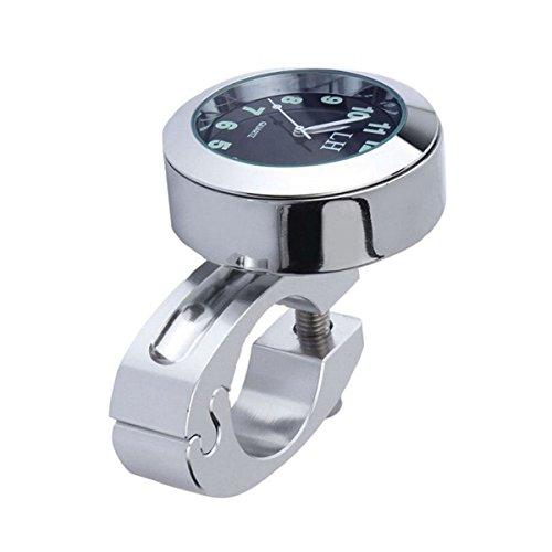WINOMO Motos Handbar montaje Reloj Digital resistente al agua 7/8