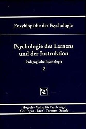 Enzyklopädie der Psychologie, Bd.2, Psychologie des Lernens und der Instruktion