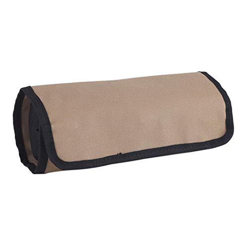 nale Oxford Canvas Werkzeugtasche Meißelrolle Rollen Reparatur Werkzeug Utility Bag Elektriker Roll Up Tools Aufbewahrungstasche ()