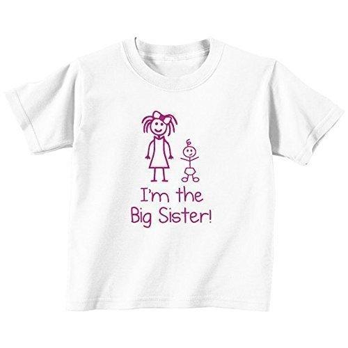 im-the-big-sister-bianco-maglietta-bambini-piccoli-disponibile-nelle-taglie-da-0-6-mesi-nuovo-da-bam