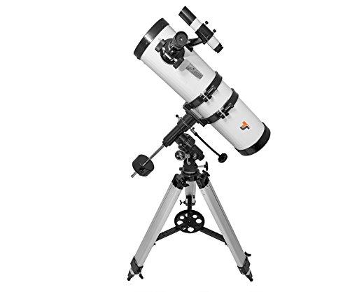 TS-Optics Teleskop Fernrohr 130/650 EQ 3-1 - Spiegelteleskop mit 130mm Öffnung und 650mm Brennweite - ideal für Einsteiger, Starscope1306