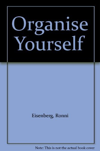 Organise Yourself by Ronni Eisenberg (1988-03-24)