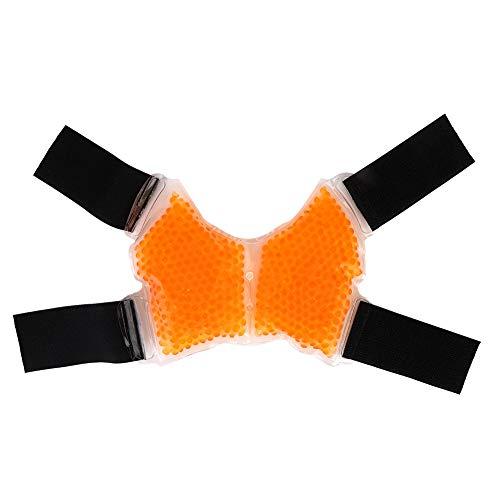 Gel Cooling Wrap, Hot Cold Knöchelunterstützung, Entwickelt für Verletzungen, Schmerzlinderung, geschwollenen Fuß, Gel Bead Cold Packs Knöchel, mikrowellengeeignet, einfrierbar und wiederverwendbar -