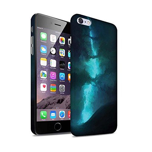 Offiziell Chris Cold Hülle / Matte Snap-On Case für Apple iPhone 6+/Plus 5.5 / Pack 12pcs Muster / Fremden Welt Kosmos Kollektion Elektro-Sturm