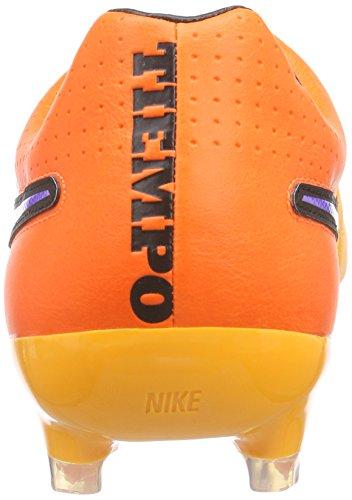 Nike Tiempo Legacy Fg, Chaussures de football homme Orange - Orange (Lsr Orng/Prsn Vlt-Ttl Orng-Vlt 858)