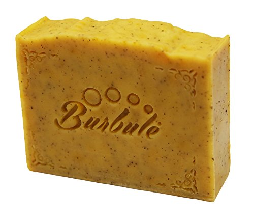 Il sapone esfoliante, organica, aromatico, fatto mano coffee scrub realizzato a partire da l' olio vegetale 100 g