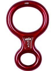 Climbing Technology Otto 8-form-anillo para descender, de colour rojo, talla S/tamaño pequeño