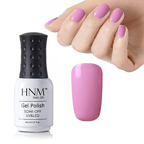 HNM Vernis à Ongles Semi Permanent Couleur Rose Magnifique pour Vos Ongles UV LED Soak off 8ml-08