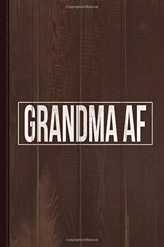 Grandma Af Journal Notebook: Blank Lined Ruled For Writing 6x9 120 Pages por Flippin Sweet Books
