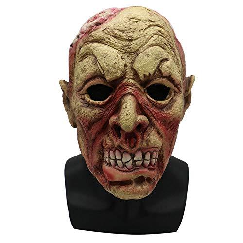 (Maske YN Horror Clown Halloween Vampir Scary Spukhaus Kopfbedeckung Teufel Adult Male Zombie Tricky Gesicht)
