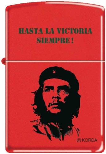 Original Zippo Feuerzeug Che Guevara - Hasta La Victoria Siempre! - Red matte