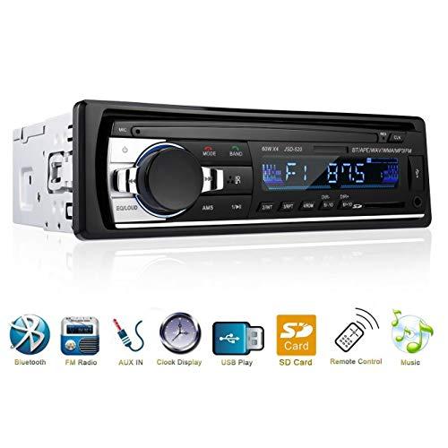 Meteor fire Auto-Multimedia-MP5-Player, Auto-Stereo-Bluetooth-FM-Radio mit multimodalem Wiedergabemodus, kompatibel mit SD-Karte/MM-Karte, U-Disk usw.
