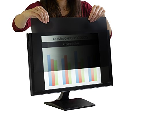 24 Inch (Diagonally Measured) Privacy Screen 16:9 Aspect Ratio for Widescreen Computer Monitors (AP 24.0W9)