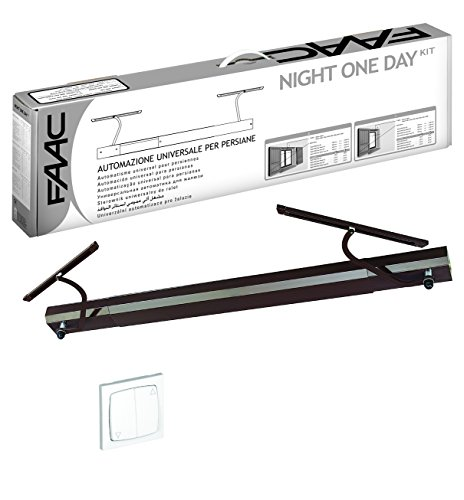 KIT NIGHT ONE DAY BLANC Automatisme volet battant FAAC - FAAC