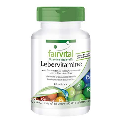 Lebervitamine - VEGAN - 60 Tabletten - mit Artischocke und Mariendistel