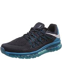 check out ea51d 7d566 Nike Air Max 2015 Men s Running Sneaker, Dark Obsidian White Blue Lagoon,