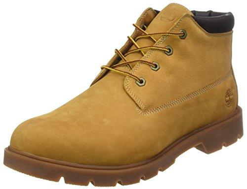 Timberland Herren 6 In Basic Chukka Boots, Beige (Wheat Nubuck with Suede 231), 46 EU - Herren Boots Timberland Chukka