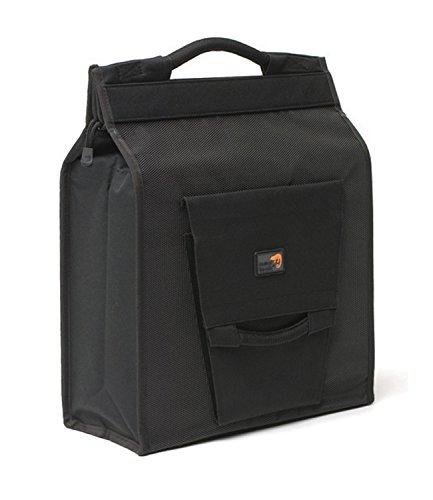 New Looxs Daily Shopper Basic Gepäckträgertasche/Einkaufstasche, Black, 35 x 40 x 16 cm