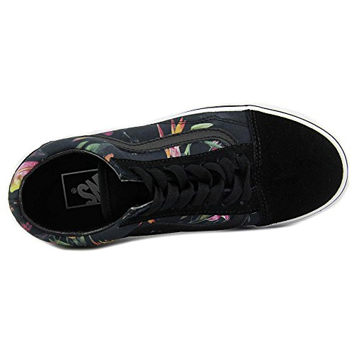 Vans U Authentic Black Bloom, Baskets Basses Mixte Adulte Black/true white