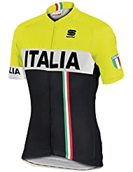 Sportful - Italia It Jersey, color amarillo,negro, talla XXL
