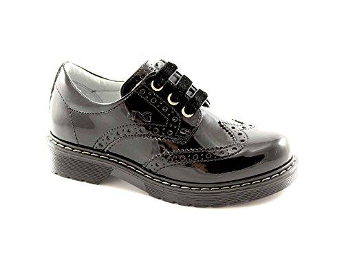 BLACK GARDENS JUNIOR 28231 27/34 Schuhe britische Mädchen Farbe Nero