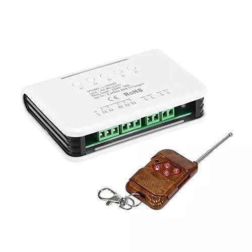 220V 4canali WiFi wireless Smart Switch modulo relè per Smart Home, work with ALEXA, Google Home assistente & Ifttt, aumento Watchdog